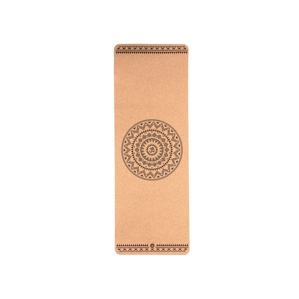 Bodhi Phoenix Yoga mat Cork ETHNO MANDALA 185 x 66 cm x 4mm