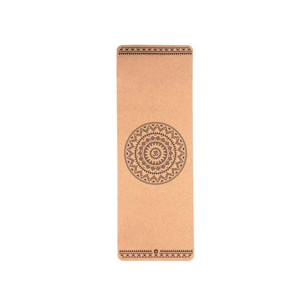 Bodhi Phoenix Yoga mat Cork ETHNO MANDALA 185 x 66 cm