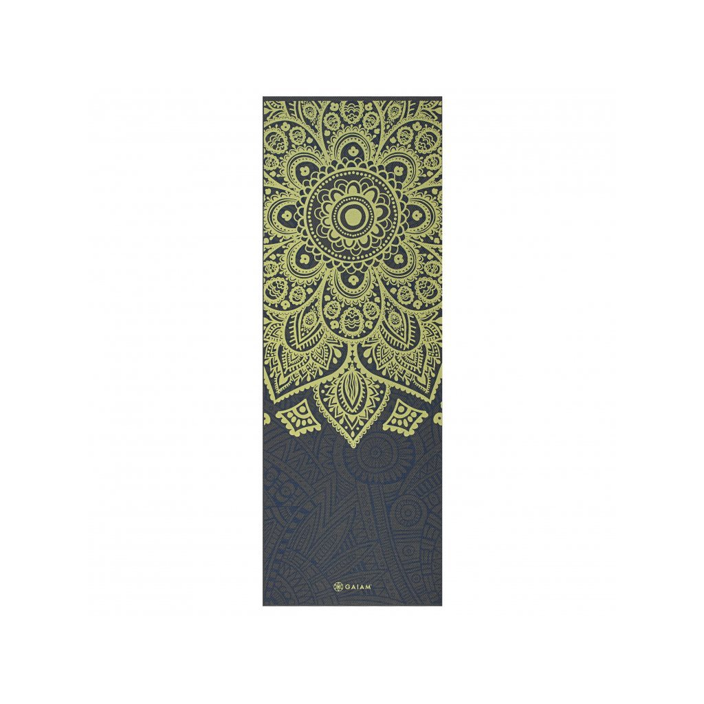 Gaiam PVC Mat Sundial Layers 173 x 61 cm x 6 mm