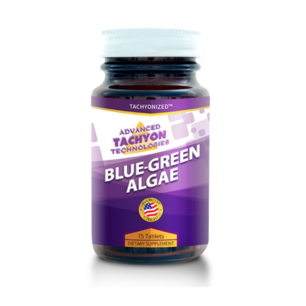 Tachyonized Blue-Green Algae 75, 200 Capsules