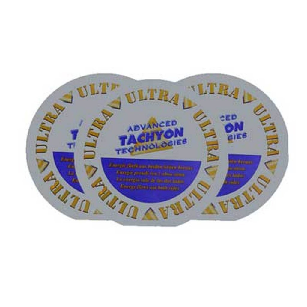 Tachyonized ULTRA Silica Disk 10cm 3 pack