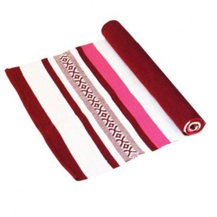 Bodhi Yoga carpet Red Tones / White 198x65 cm11194