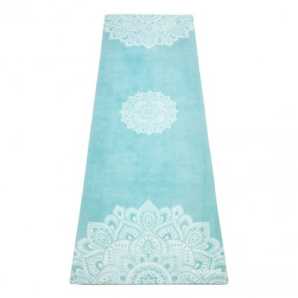 Design Lab Yoga Travel Mat Mandala Turquoise yoga mat 1 mm11470