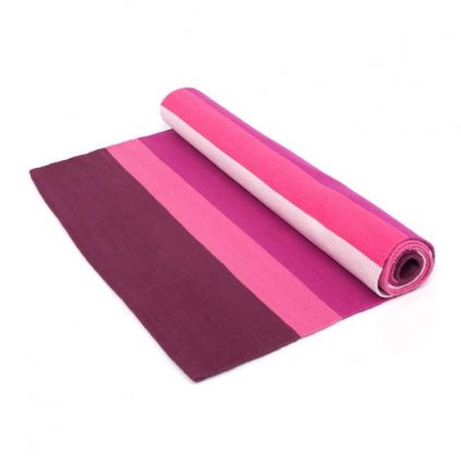 Bodhi carpet Ashtanga Yoga Purple / Pink 198 x 65 cm198/S24