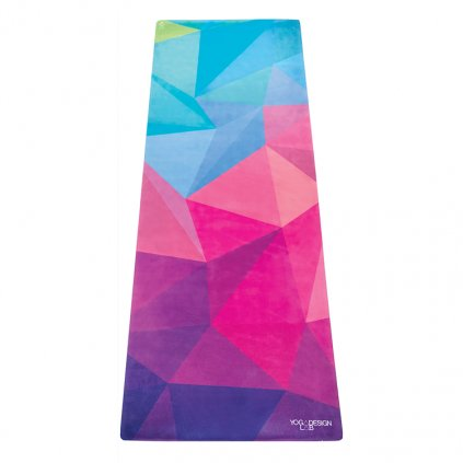 Yoga Design Lab Commuter Check Geo yoga mat 1.5 mm11584