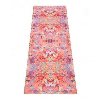 Yoga Design Lab Commuter Check Kaleidoscope yoga mat 1.5 mm11587