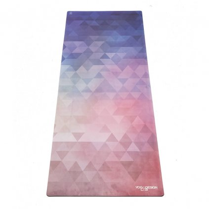 Yoga Design Lab Commuter Check Tribeca Love yoga mat 1.5 mm11599