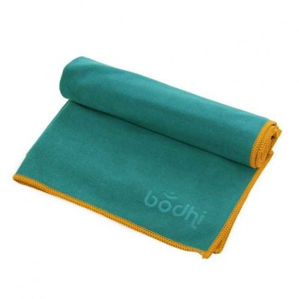 Bodhi Yoga towel Hand No Sweat FUN 68 x 40 cm (turquoise)1953