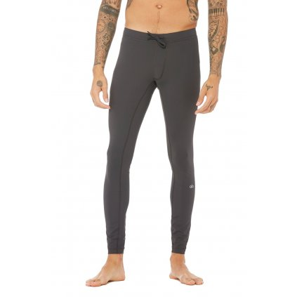 Alo Warrior Compression Pant men's leggings gray12284/M