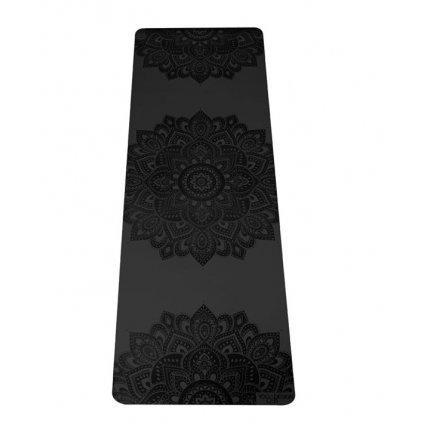 Yoga Design Lab Check the Infinity Mandala Charcoal 5 mm Yoga mat198/S76