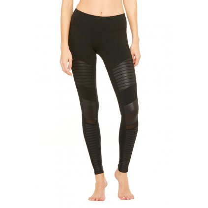 Alo Moto yoga leggings black12510/S