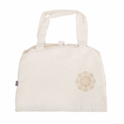 Bag Yoga Bodhi Maharaj Namasté cotton Mandurai (gray)12804