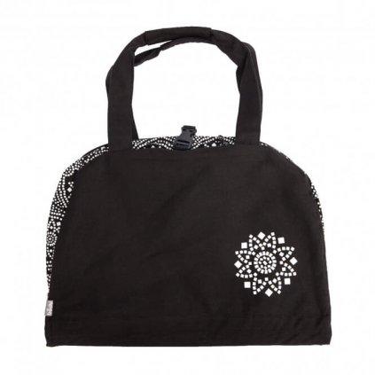 Bag Yoga Bodhi Maharaj Namasté Bandhani cotton (white)198/S87