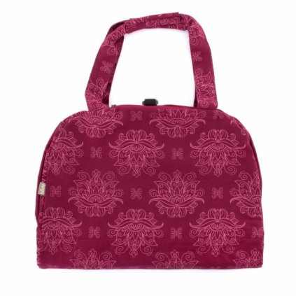 Bag Yoga Bodhi Maharaj cotton Namaste Lotus (Pink)198/S88