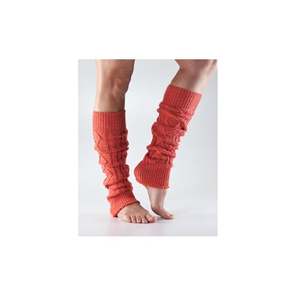 Toesox Legwarmers Knee High Coral - calf wraps1297