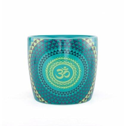 Bodhi Yogi Mug ceramic mug Blue 300 ml Mandala198/S97