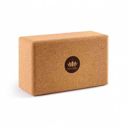 Lotuscrafts cork yoga block Regular 23 x 14 x 9 cm13230