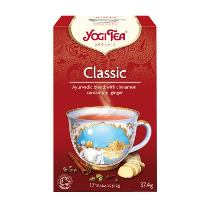 Yogi Tea Classic (Classic) Ayurvedic herbal tea, 17 x 2.2 g13362