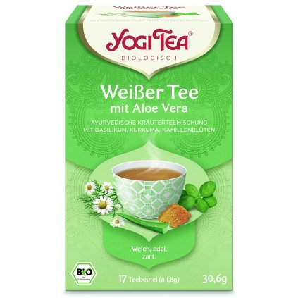Yogi Tea Black tea White tea aloe vera Aloe Vera 17 x 1.8 g198/S118