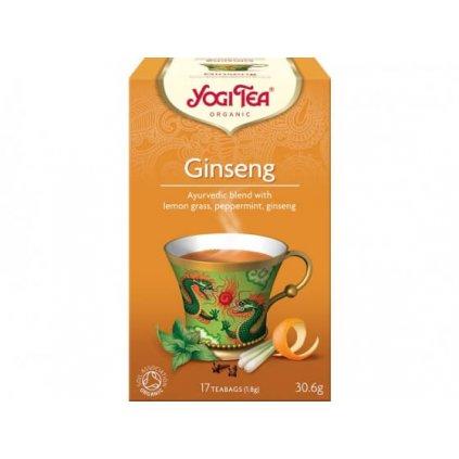 Organic Yogi Tea Ginseng 17 x 1.8 g198/S120