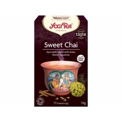 Organic Sweet Chai Yogi Tea 17 x 2 g198/S122