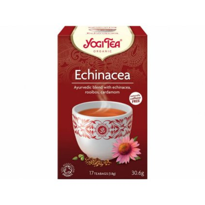 Organic Echinacea Yogi Tea 17 x 1.8 g198/S124
