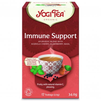 Yogi Tea Immune Support (immune system) of herbal-fruit tea 17 x 2 g198/S125