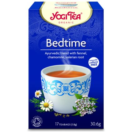 Bedtime Yogi Tea (better sleep) Ayurvedic herbal tea 17 x 1.8 g198/S137
