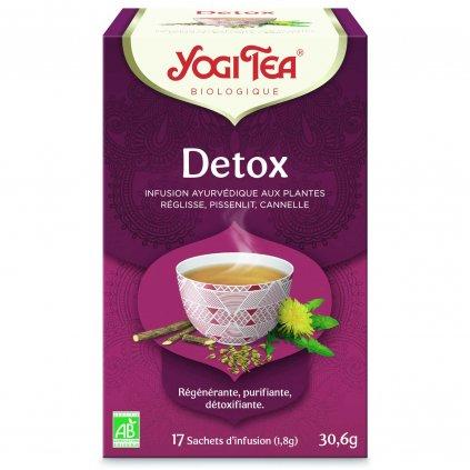 Yogi Tea Detox Ayurvedic herbal tea 17 x 1.8 g198/S138