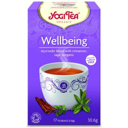Yogi Tea wellbeing (overall balance) Ayurvedic herbal tea 17 x 1.8 g198/S141