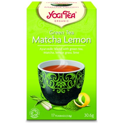 Yogi Tea Matcha Lemon Ayurvedic green tea matcha with 17 × 1.8 g198/S143