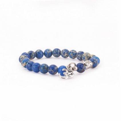 Mala bracelet Bodhi green Jasper Buddha Om198/S202