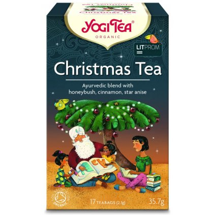 Yogi Tea Christmas (Christmas) - Ayurvedic Herbal Tea Organic Portion 17 × 2.1 g198/S208