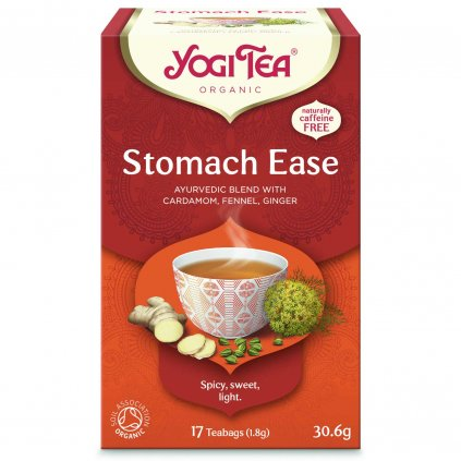 Yogi Tea Stomach ease (for digestion) - Ayurvedic herbal tea Organic Portion 17 x 1.8 g198/S211