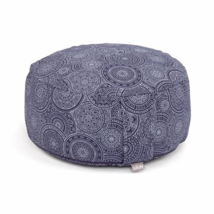 Maharaj Bodhi Mandala Rondo meditation cushion (dark blue)14169/PAL