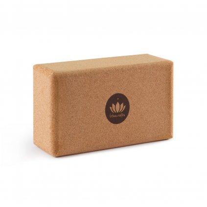 Lotuscrafts cork yoga block small 22 x 12 x 7.5 cm198/S221