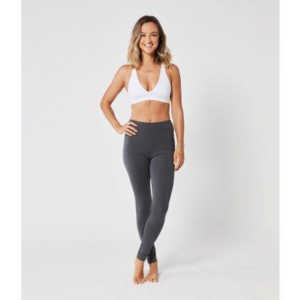 Lotuscrafts Leggings yoga organic cotton (gray)14202/XS