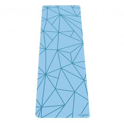Yoga Design Lab The Infinity Mat Geo Aqua 5 mm Yoga mat198/S224