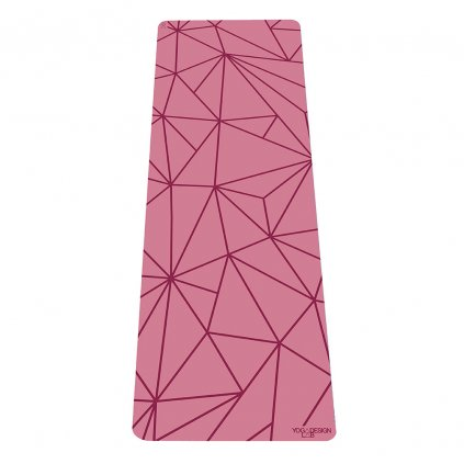 Yoga Design Lab The Infinity Mat Geo Rose 5 mm Yoga mat198/S226