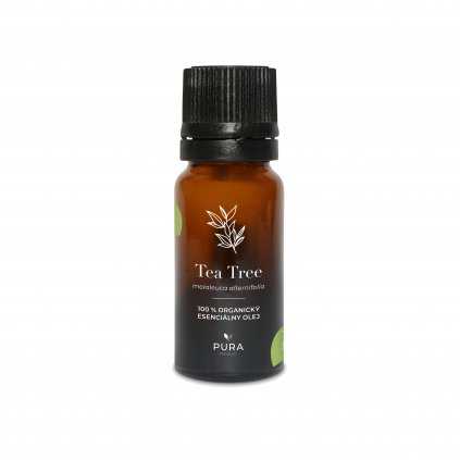 PURA 100% pure organic tea tree essential oil 10 ml198/S230
