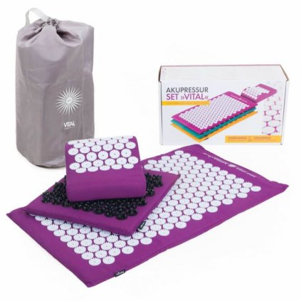 Bodhi set to acupressure VITAL DELUXE soft purple14622