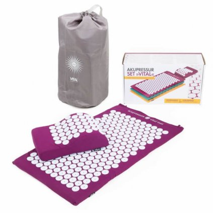 Bodhi set to acupressure VITAL purple14643