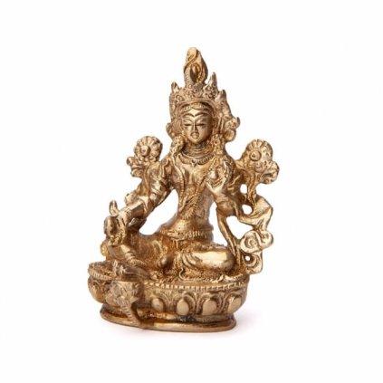 Bodhi Statue Tara Green 9 cm198/S291