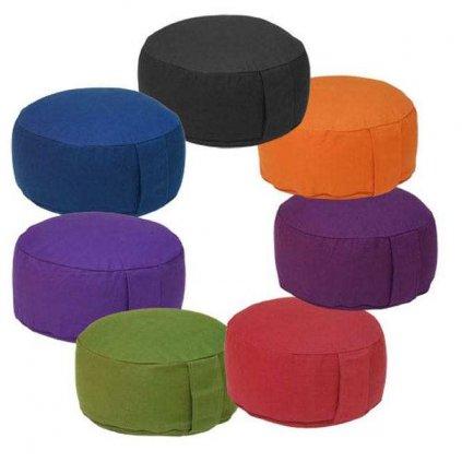Bodhi Meditation cushion RONDO BASIC 28x17 cm filling kapok15138/ZEL