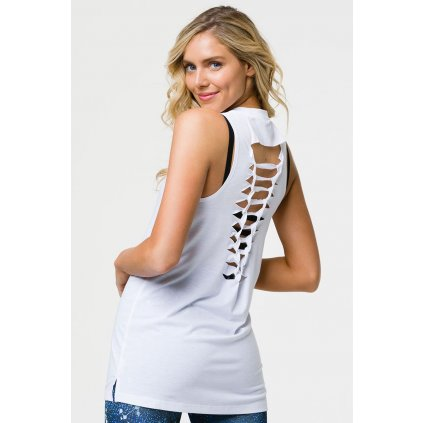 Onzie BRAID TANK shirt white15339/S