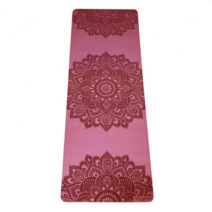 Yoga Design Lab Check the Infinity Mandala Rose 5 mm Yoga mat198/S326