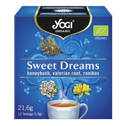 Yogi Tea SWEET DREAMS - Ayurvedic tea from herbs and spices BIO 12 × 1.8 g198/S342