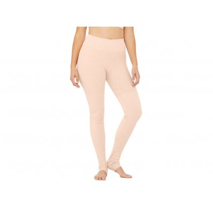 Allo High Waist Goddess Legging Smoky Quartz/Smoky Heather