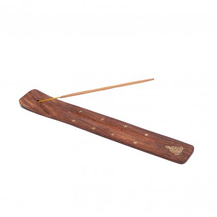 Bodhi Incense Holder made of wood 26 cm