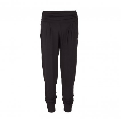 fa00a yamadhi loose pants black front2 (1)